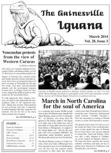 march iguana cover