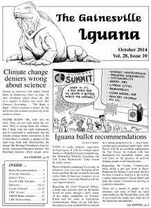 october 2014 iguana cover