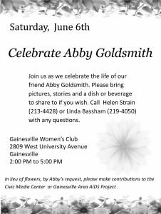 abby goldsmith flier